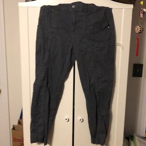 Croft & Barrow Charcoal pants